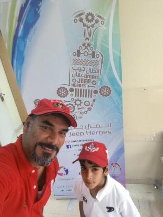 أبطال جيب عمان الخيري و حملة التبرع بالدم